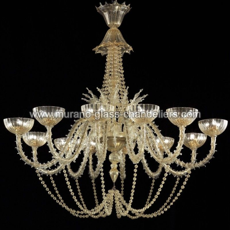 Champagne Murano glass chandelier Beautiful gold 36 lights #Murano chandelier entirely manufactured in Italy by true Master glassblowers. See more pictures and prices at: http://bit.ly/1GLYXuB #Murano #Muranoglass #art #interiordesign #homedecor #Italy #Venice The post Champagne Murano glass chandelier appeared first on Murano Glass Chandeliers Blog.