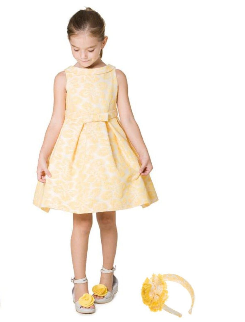 Yellow dress kids  The famous yellow princess dress  princes dres  Pinterest  Child