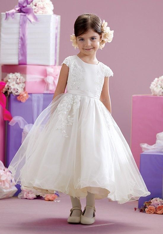 5c97bd9895 Joan Calabrese by Mon Cheri 215347 Flower Girl Dress - The Knot ...