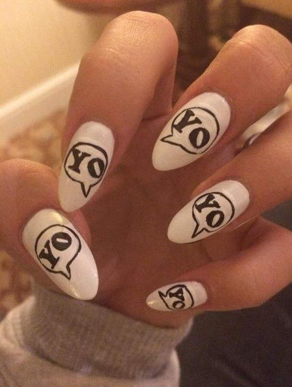 34 Reasons Why Lily Allen Is The Queen Of Nail Art | Lily allen and