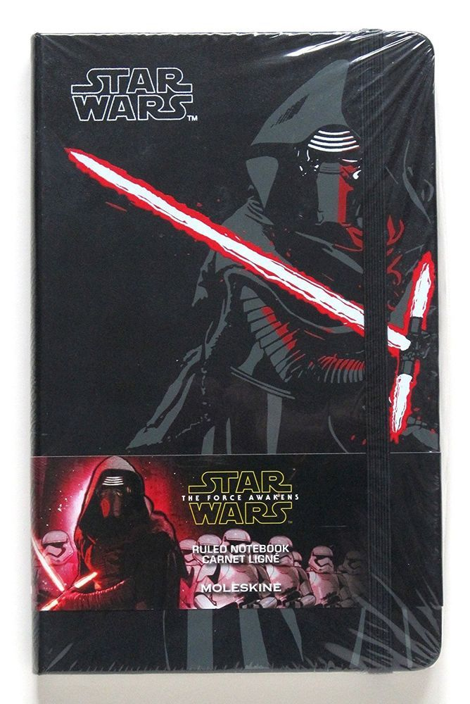 Details About Moleskine Star Wars The Force Awakens Kylo