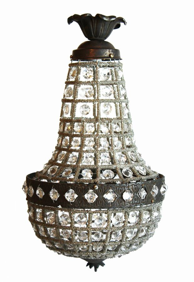 95000 httppariscoutureantiquesitem3042beaded cage 95000 httppariscoutureantiquesitem3042beaded cage french empire crystal chandelierm antique french chandeliers wall sconces european aloadofball Image collections