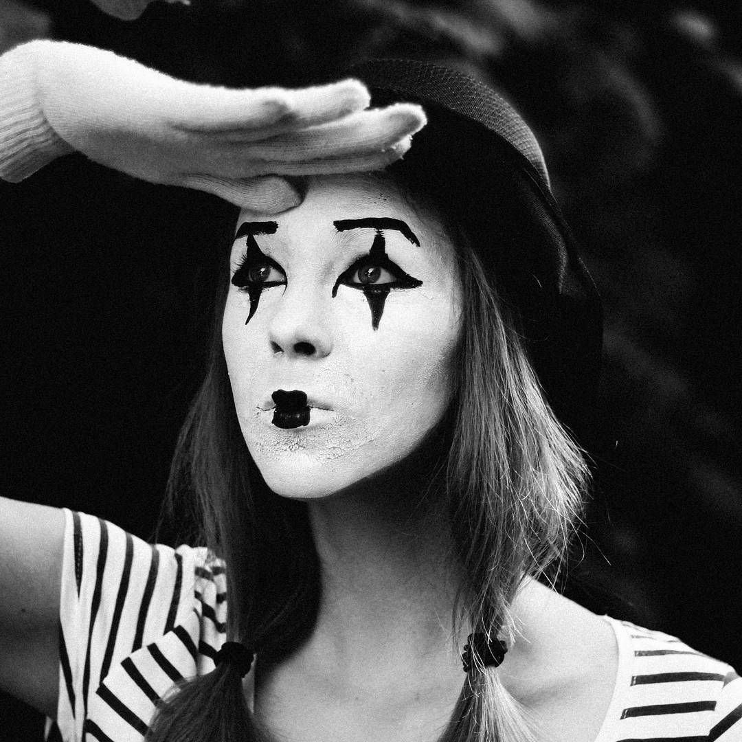 Pin by Chandra Soesetyo on Mime Girl Face painting