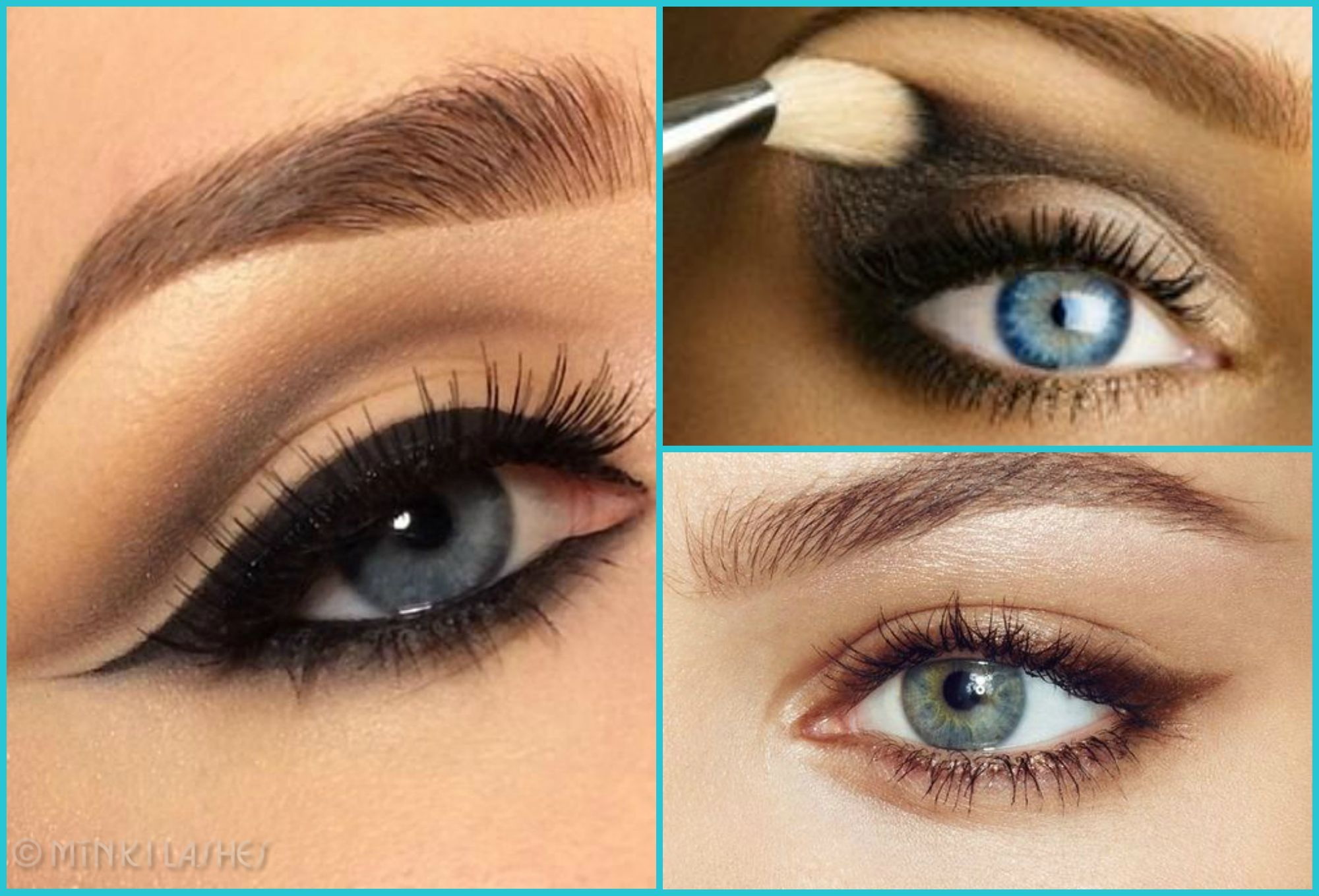 best eye makeup for blue green eyes and fair skin: style