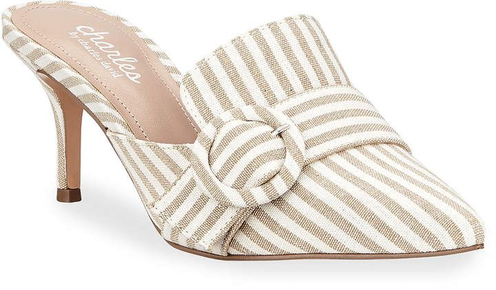 1040c7873103 Charles by Charles David Acapulco Pointed-Toe Buckle Mules ...