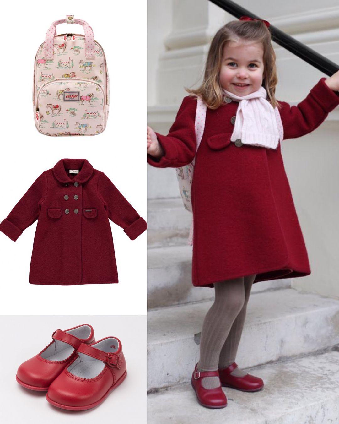 Princess Charlotte Of Cambridge On Her First Day Nursery School Jan 2018
