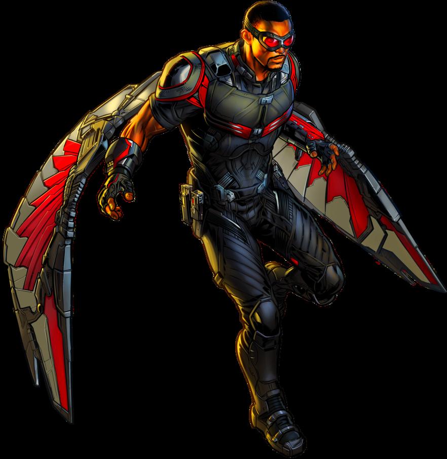 Falcon Civil War by alexiscabo1 on DeviantArt   Marvel ...