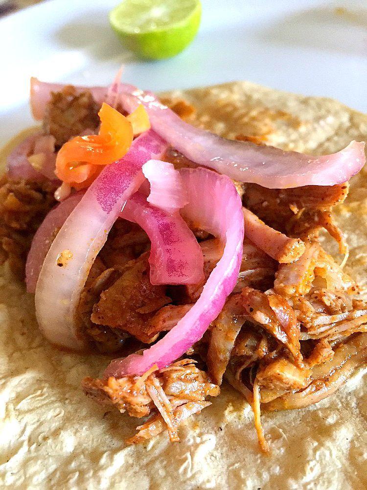 cochinita pibil (roasted pork in achiote) recipe | yucatan mojo