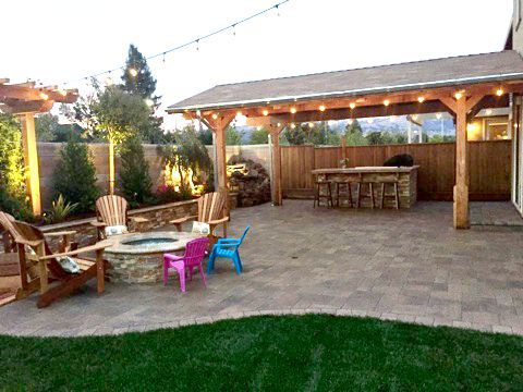 Beautiful Backyard Makeover: Elizondo Family, Morgan Hill, CA   DIY Backyard
