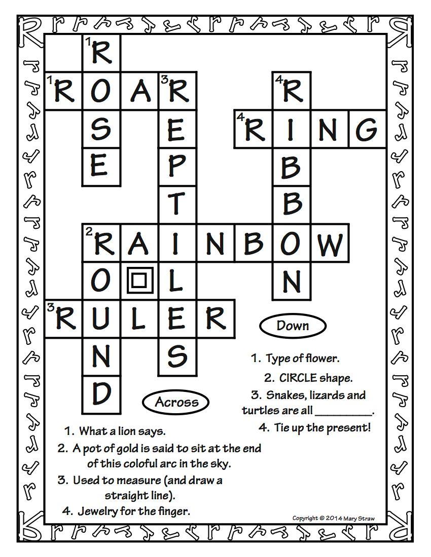 Crossword Puzzles AZ Crossword puzzles, Crossword