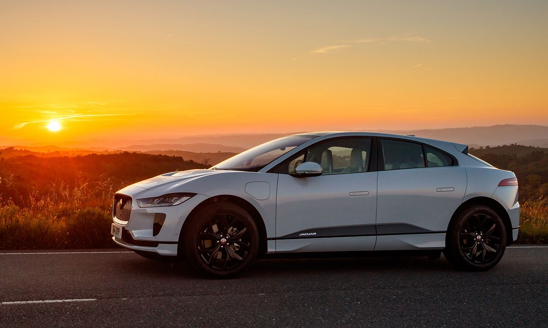 The Jaguar I Pace First Edition In Corris Grey With Images All