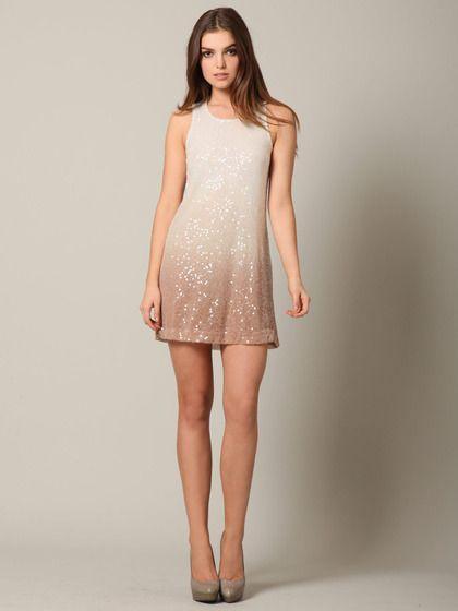 Young, Fabulous & Broke  Dip Dye Sequin Dress