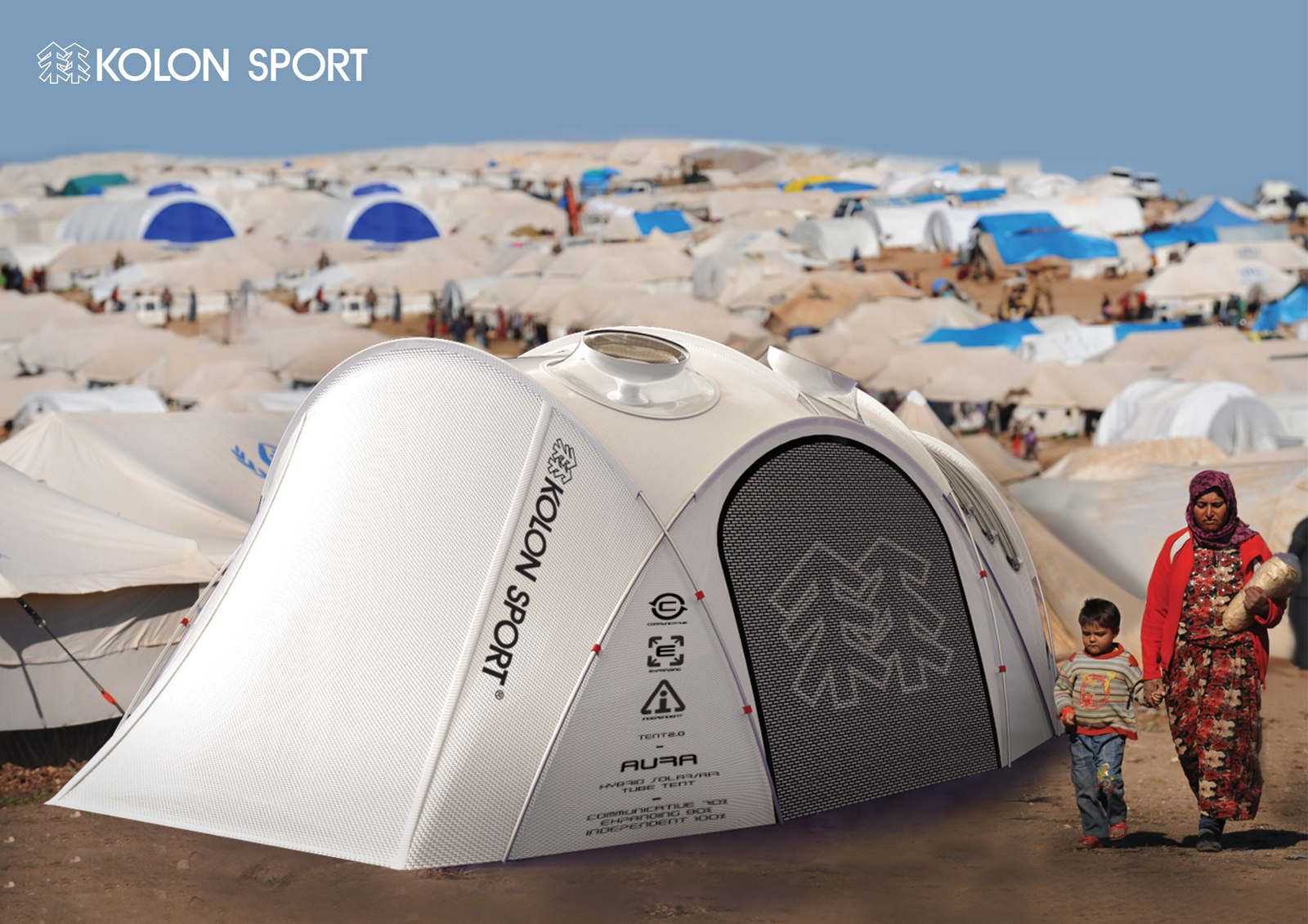 The New Generation of Tent for Innovative Outdoor Life client  KOLON SPORT Traditional outdoor tents & The New Generation of Tent for Innovative Outdoor Life client ...