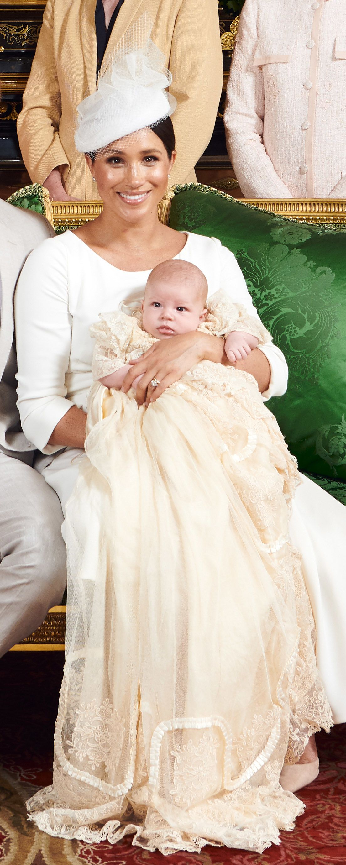 6 Jul 2019 Meghan Duchess Of Sussex With Her Son Archie Harrison Mountbatten Windsor Following Hi Meghan Markle Style Princess Meghan Prince Harry And Megan