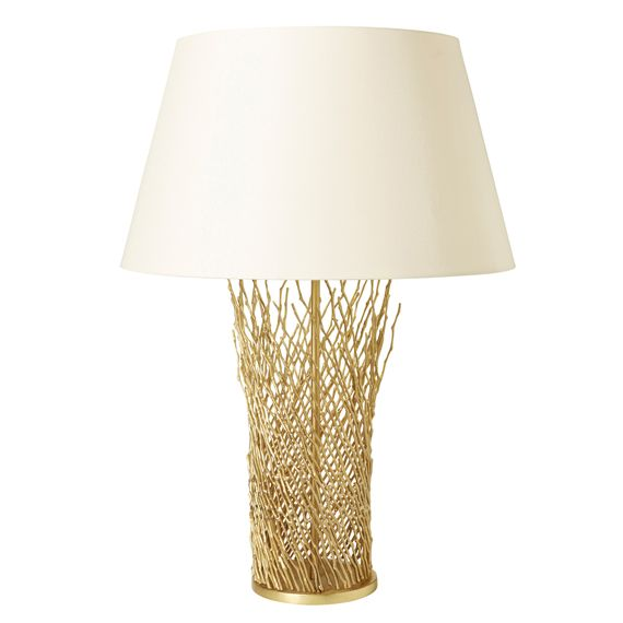 A Beautiful And Unique Table Lamp Made From Matt Brass And Fashioned To  Look Like Willow Branches. If You Like Your Lamps To Look Just As Eye Catchu2026