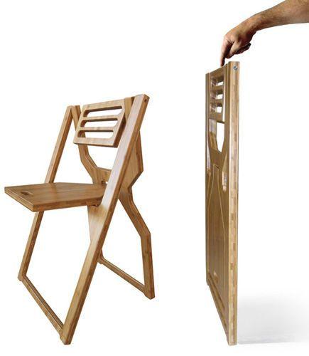 Arredi per barche : sedia (in bambù, pieghevole) JOLLY