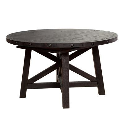 Jaxon Round Dining Table Extends To Oval