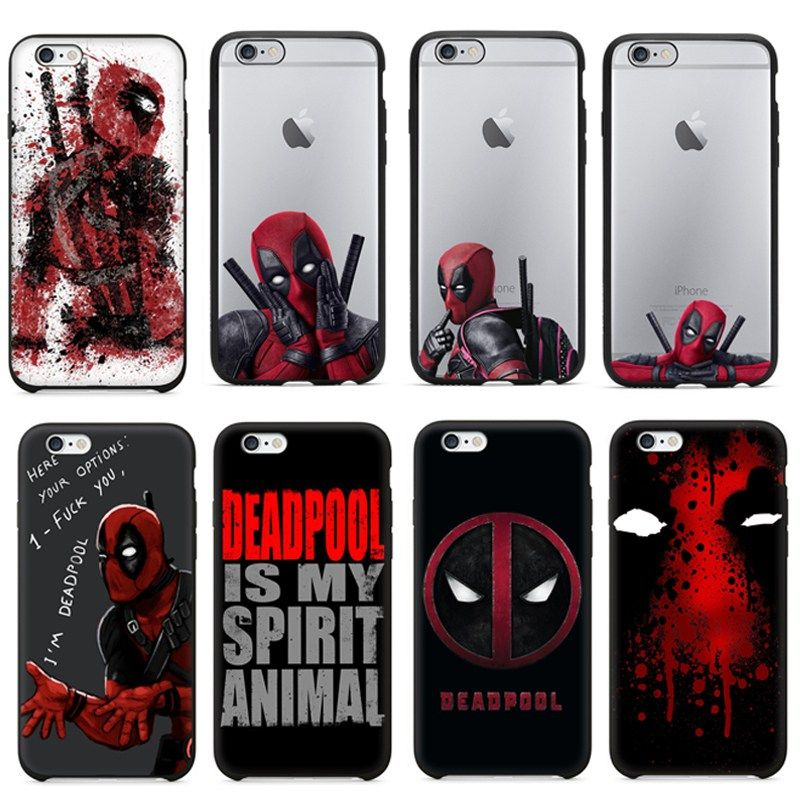 iphone 8 coque deadpool