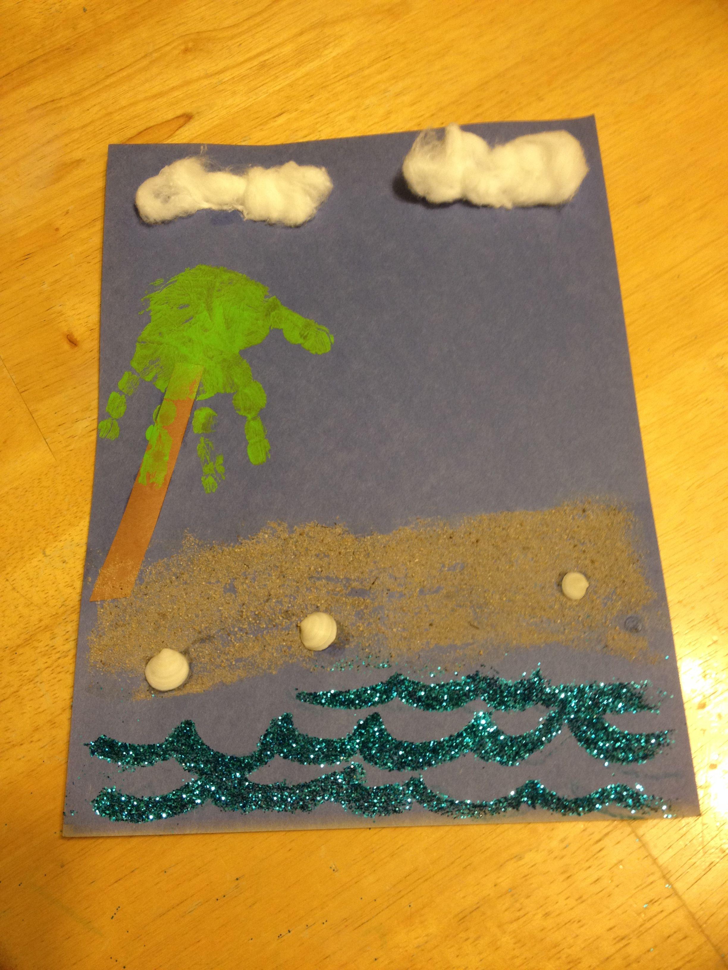 Pre-K beach day, ocean, preschool activity, sand activity ...