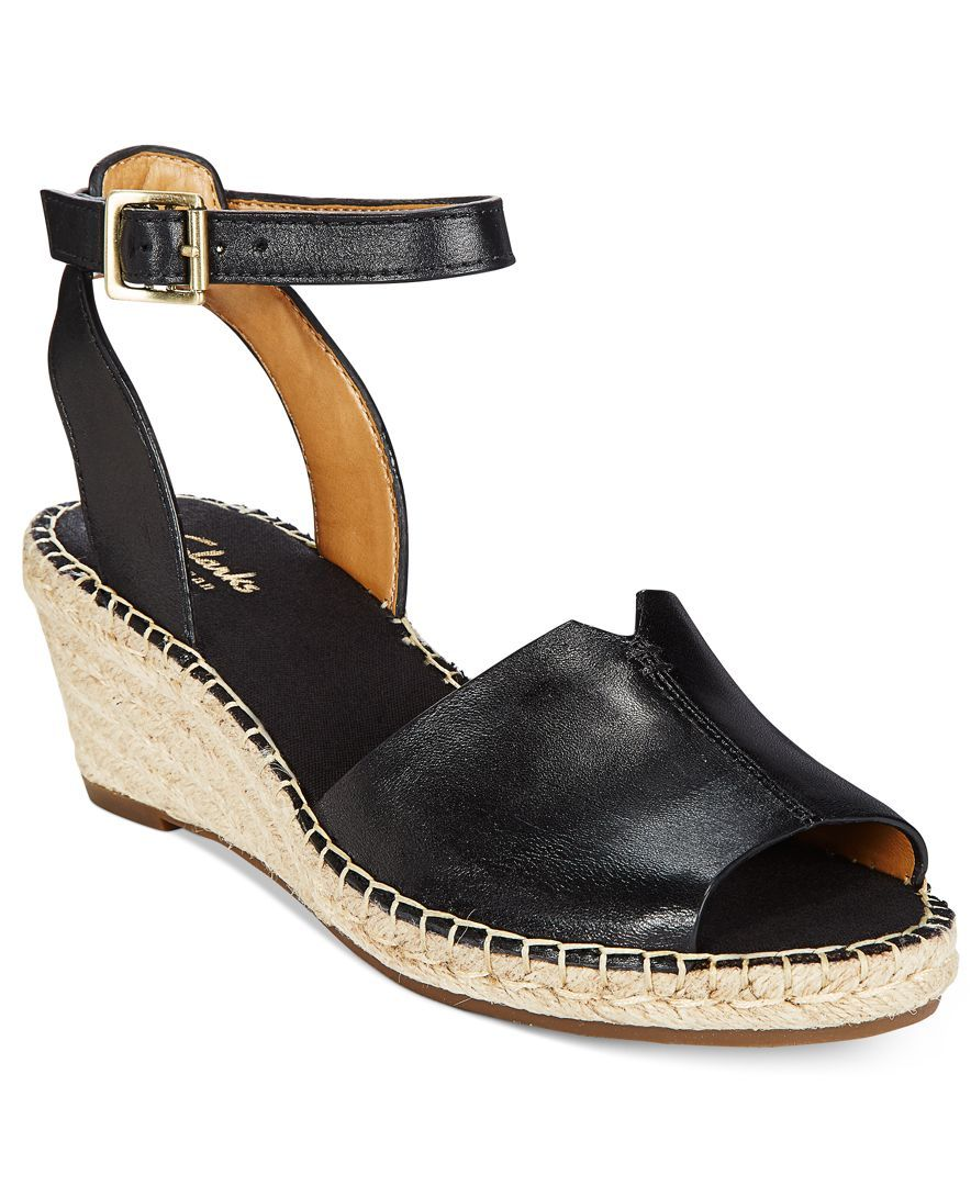 1f0bb475c82 Clarks Artisan Women s Petrina Selma Espadrille Wedge Sandals - Sandals -  Shoes - Macy s