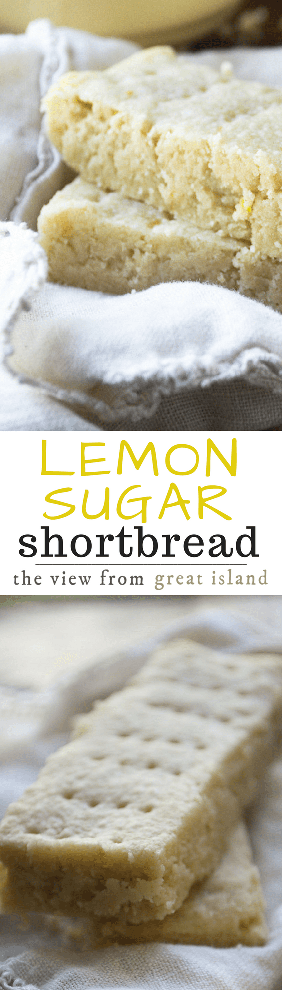 This unusual Scottish Lemon Sugar Shortbread is made with a fabulous sugar infused with lemon rind