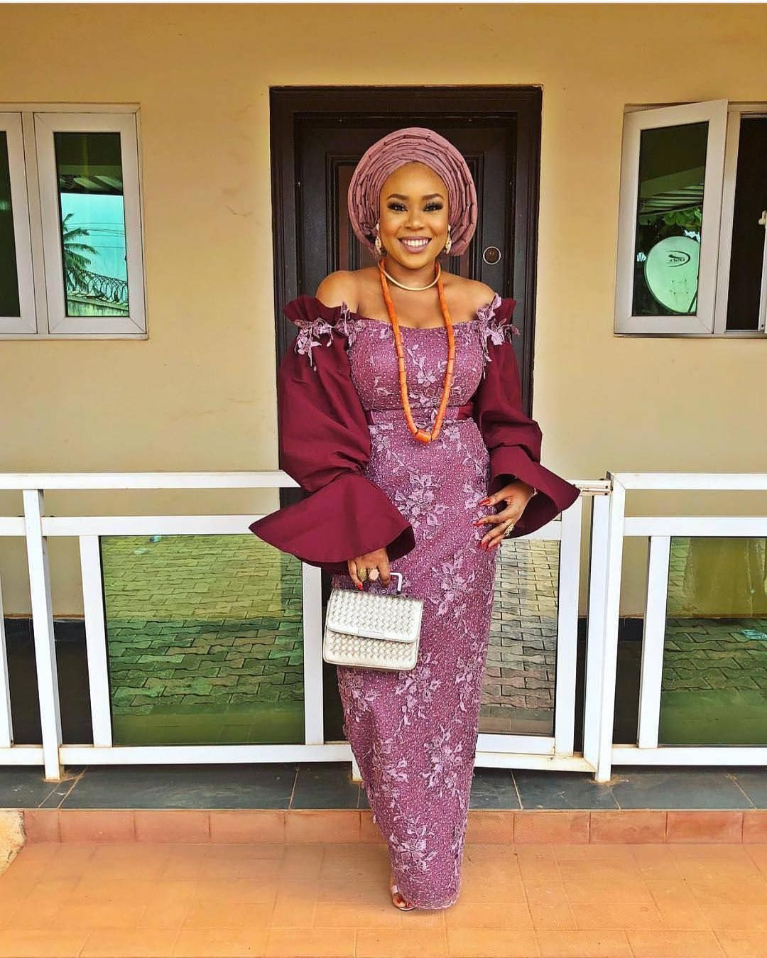 Glowing wedding guest mimionalaja fashion style weddings owambe