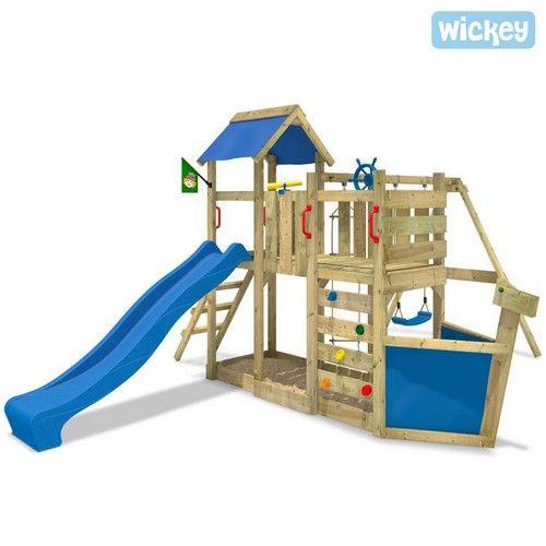 Cool Spielturm Wickey Oceanflyer Kinderspielturm mit Schiffscharakter