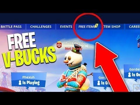 How To Get Fortnite Vbucks For Free 2019 Game Free Cereal