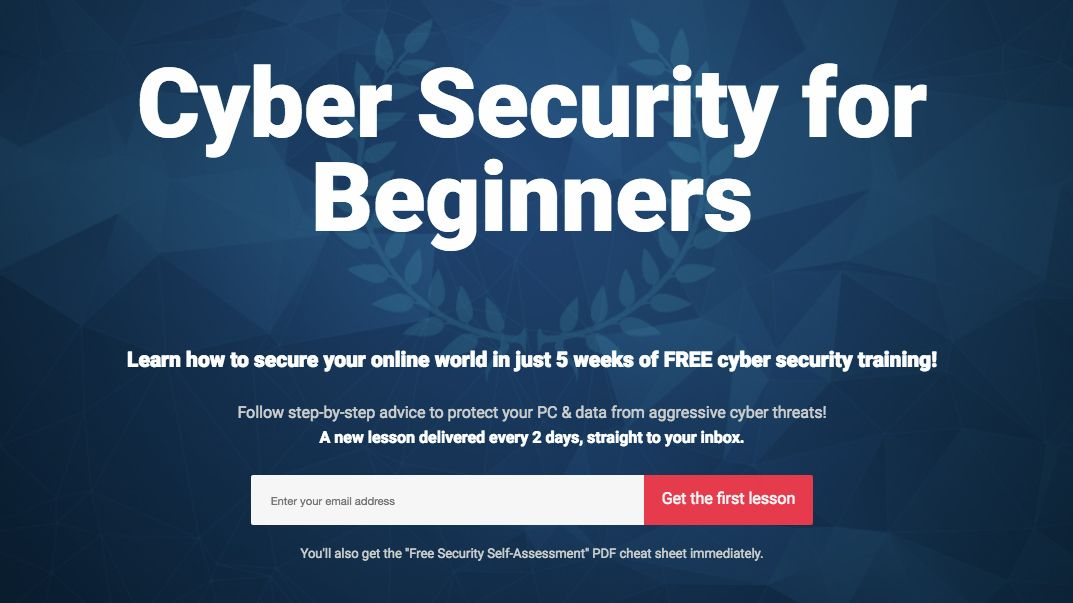 learn cyber security online for free