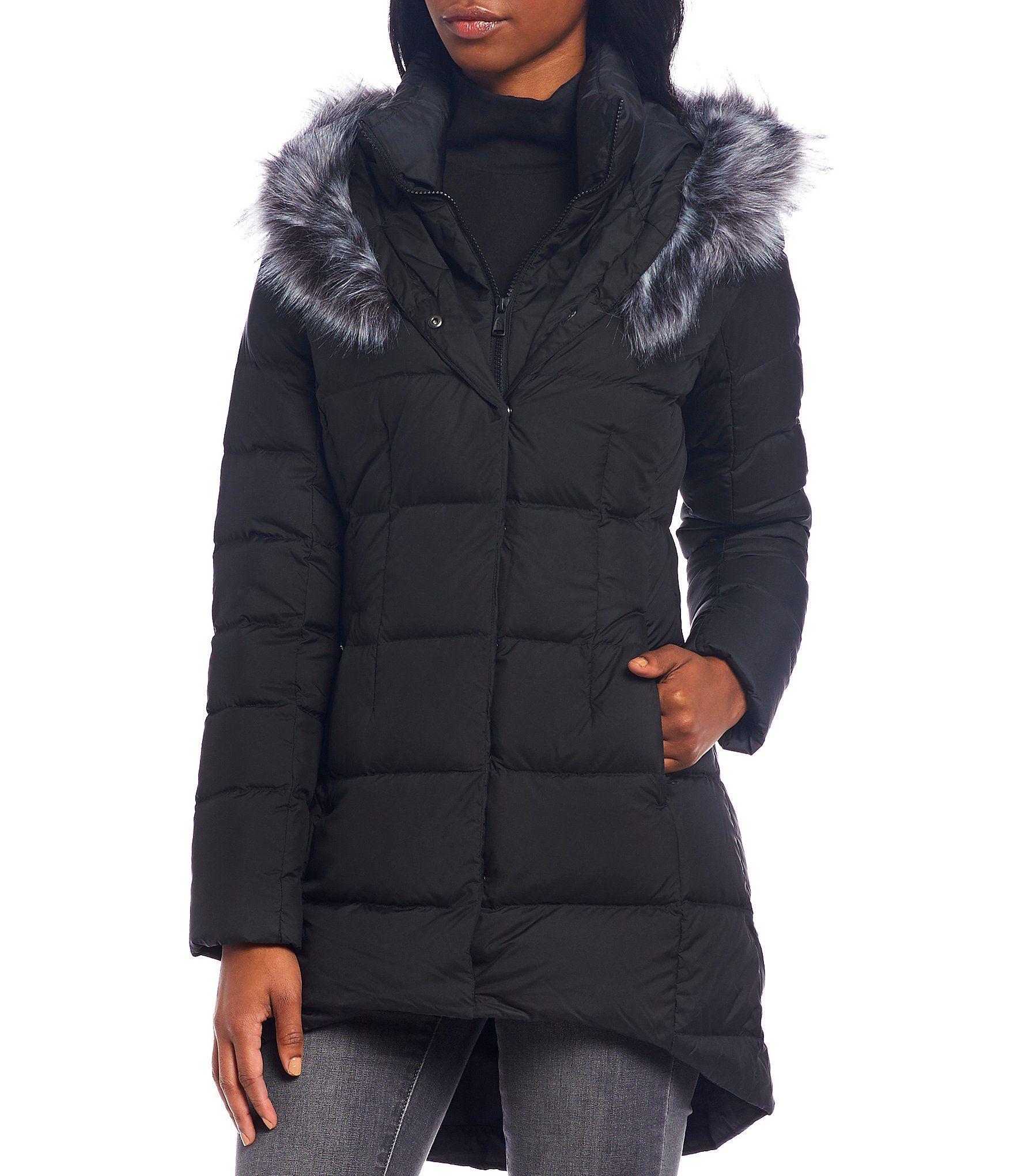 The North Face Dealio Down Parka Puffer Coat Dillard S The North Face Black North Face Long Coat Women [ 2040 x 1760 Pixel ]