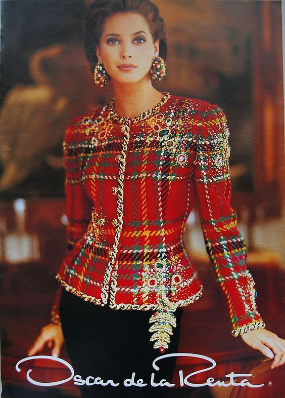 The Best Selection Of Contemporary And Vintage Luxury Clothes Tartan Fashion Couture Fashion Fashion