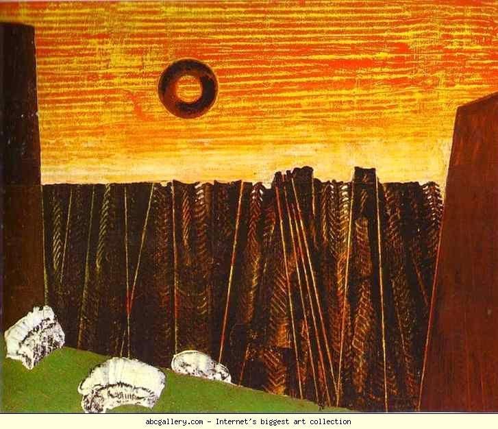 Fishbone Forest, Max Ernst