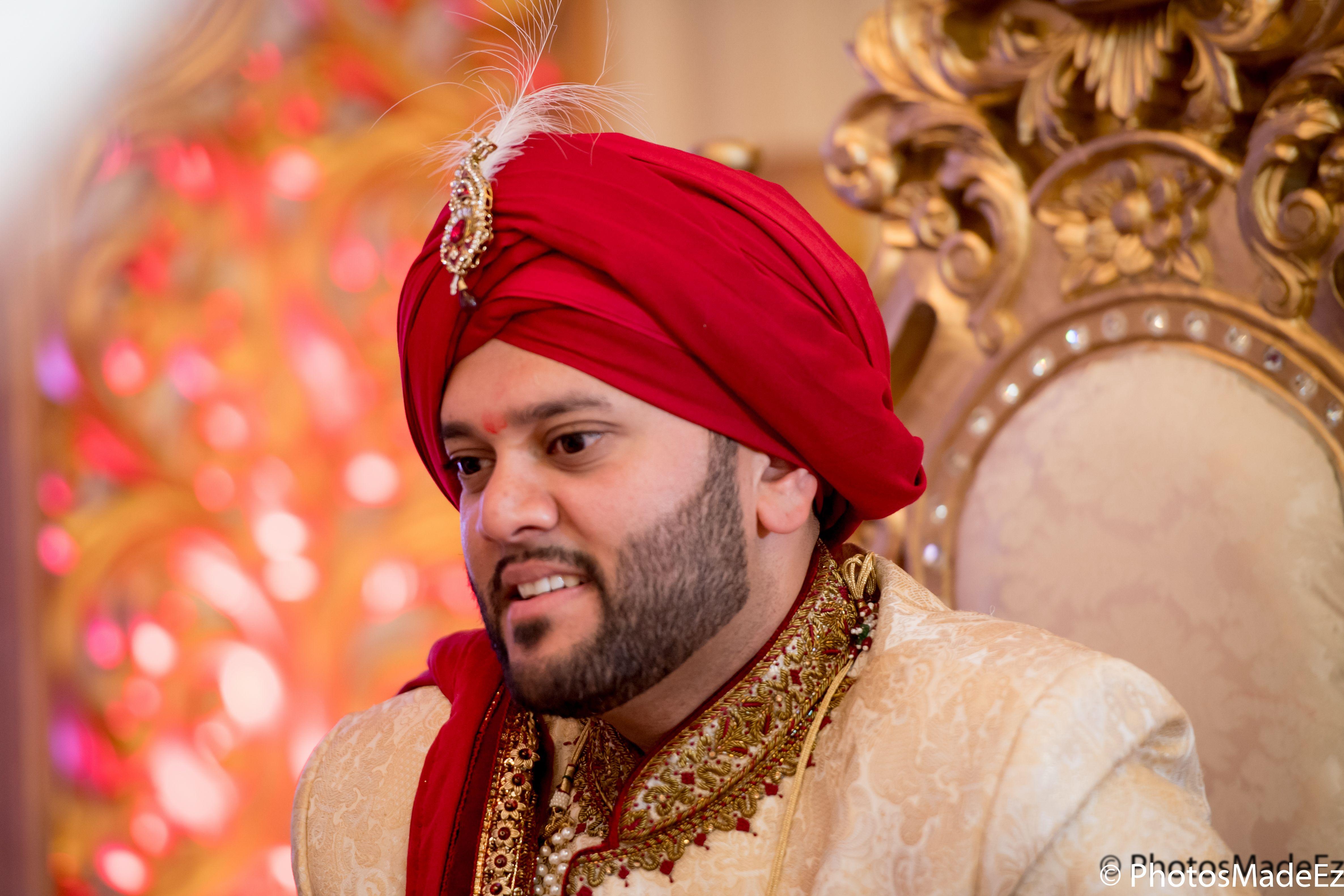 Punjabi Groom At Mahwah Sheraton Indian Wedding Best Photographer Photosmadeez Award Winning