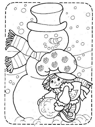 Coloring Book Strawberry Shortcake Bonnie Jones Picasa Web