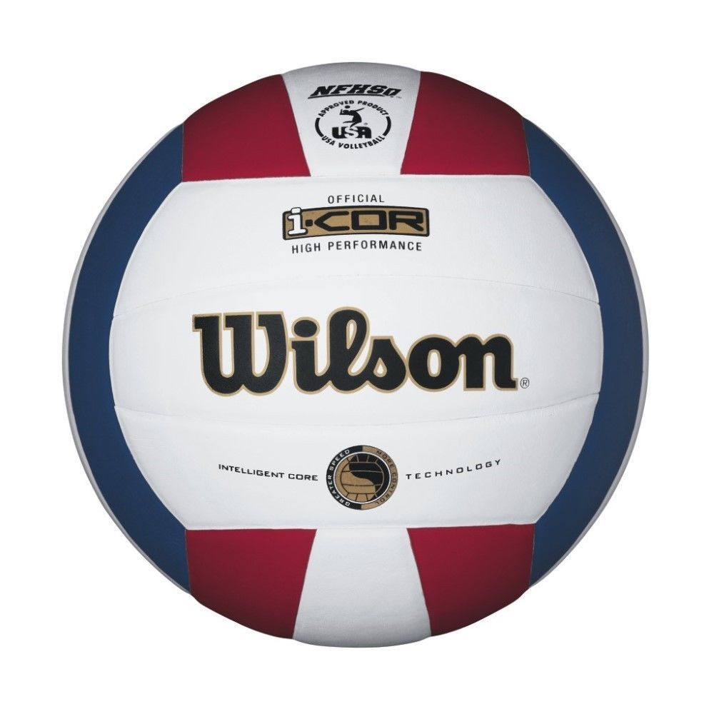 Wth7700xrwb Wilson I Cor High Performance Volleyball Red White Blue Ebay Link Indoor Volleyball Volleyball Volleyballs For Sale