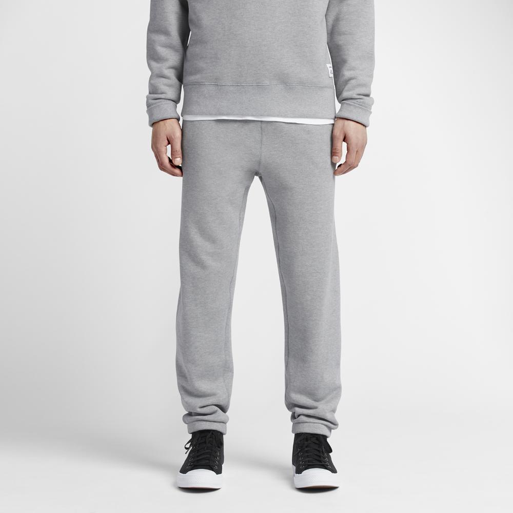Converse Essentials Sportswear Jogger Men's Sweatpants Size Medium (Grey)