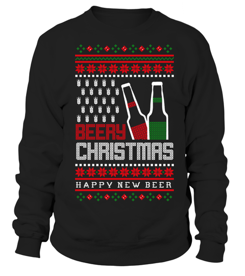beery christmas ugly sweater