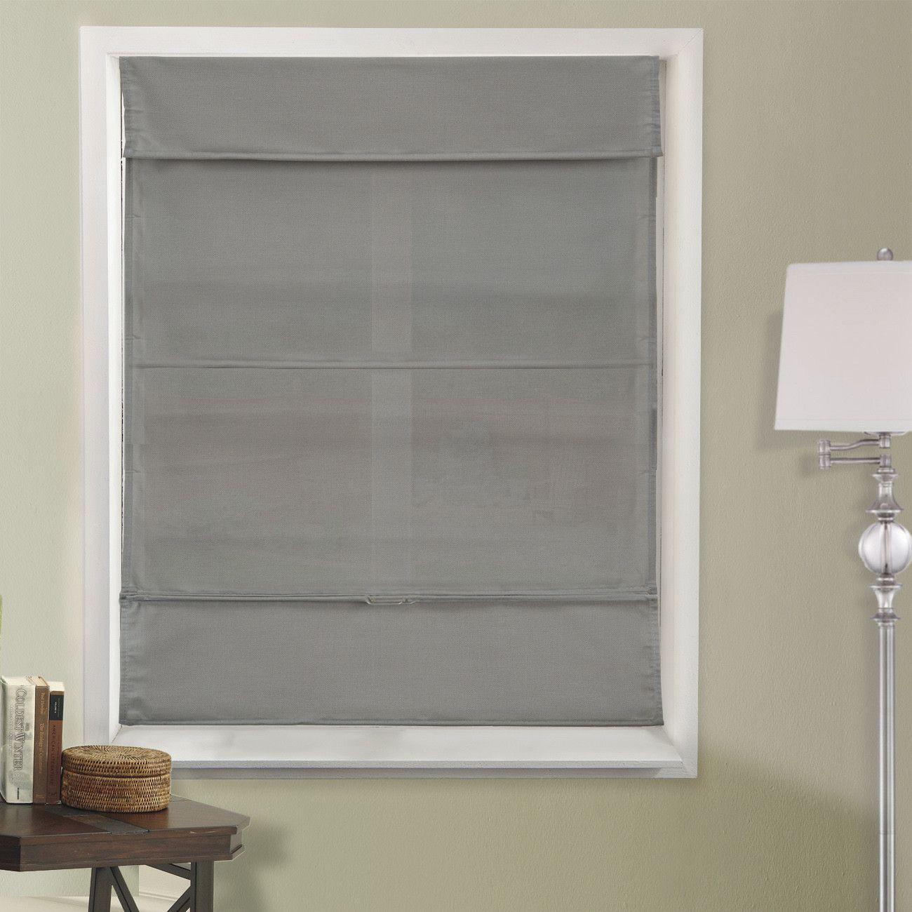 Basement window coverings outside  cummingham room darkening roman shade  roman room darkening and room