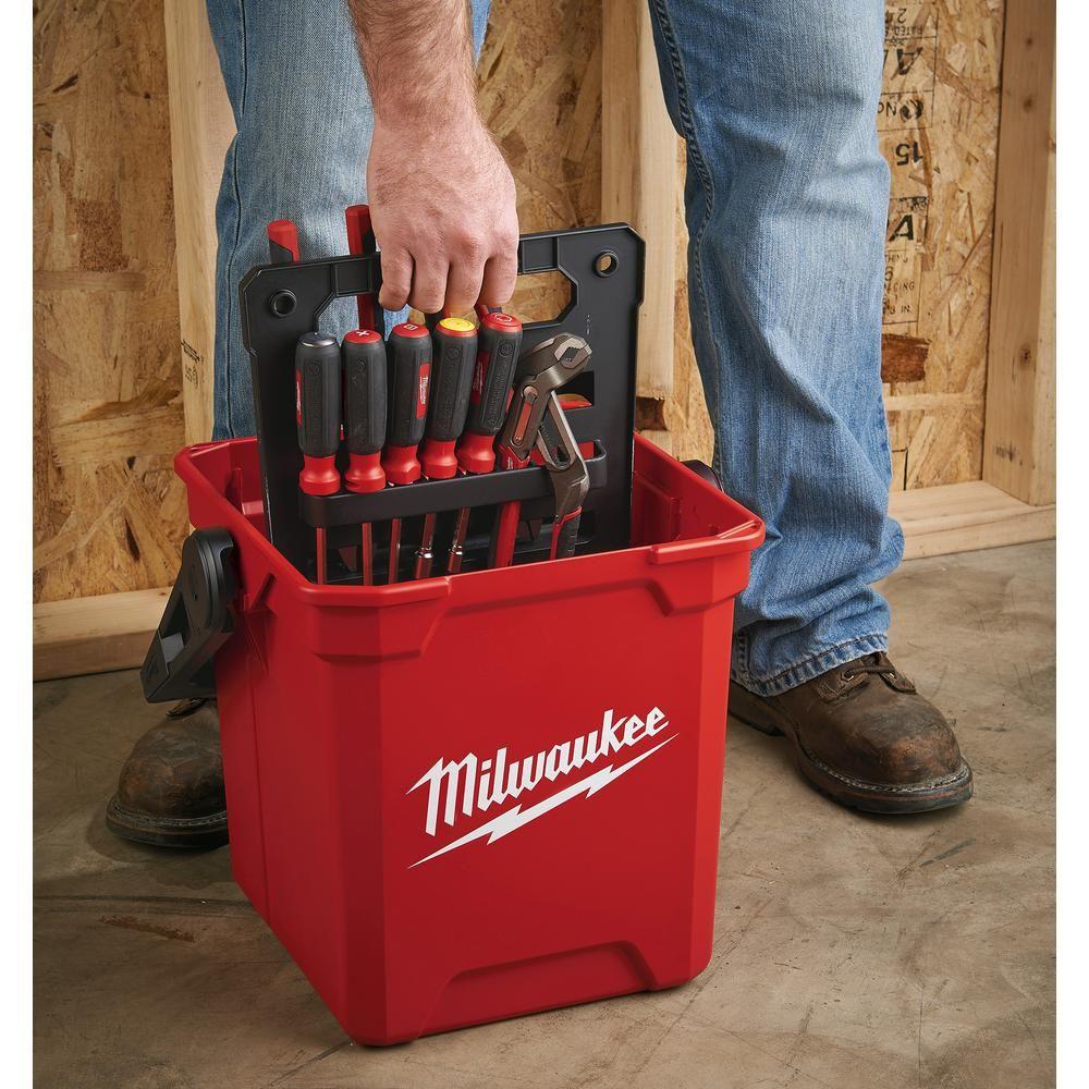 Milwaukee 13 In. Jobsite Work Tool Box-MTB1400