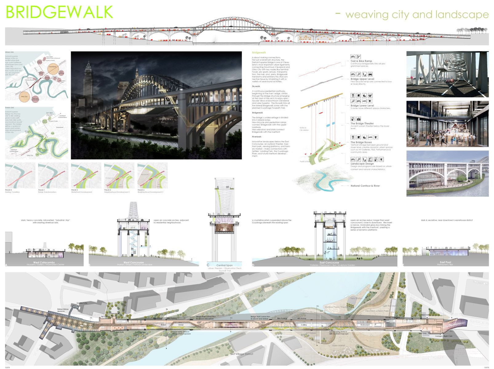Merveilleux Bustler: Two Projects Share First Place At 2012 Cleveland Design Competition    Transforming The Bridge