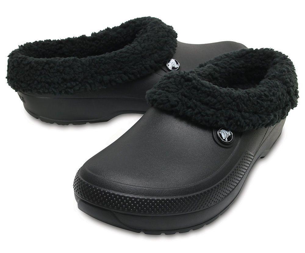 Crocs Classic Blitzen III Lined Unisex Shoes Clogs All Sizes in Various Colour