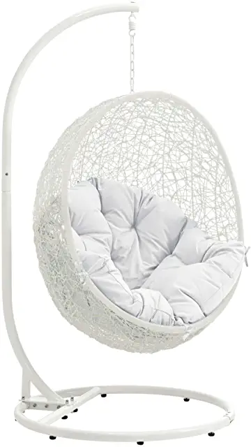Amazon Com Egg Chair In 2021 Swinging Chair Chair Hanging Egg Chair Hanging egg chair with stand