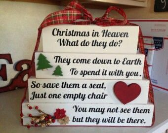 i want to make this with 2 red cardinals for my mom and dad christmas in heaven what do they do they come down to earth to spend it with you - What Do I Get My Mom For Christmas