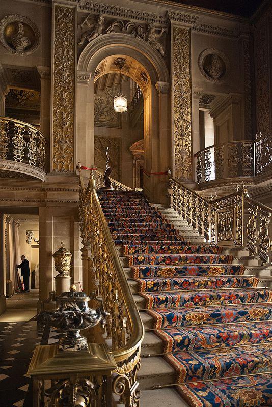 Chatsworth House England UK ArteFotografiasArquiteturaEscadasBlog Do