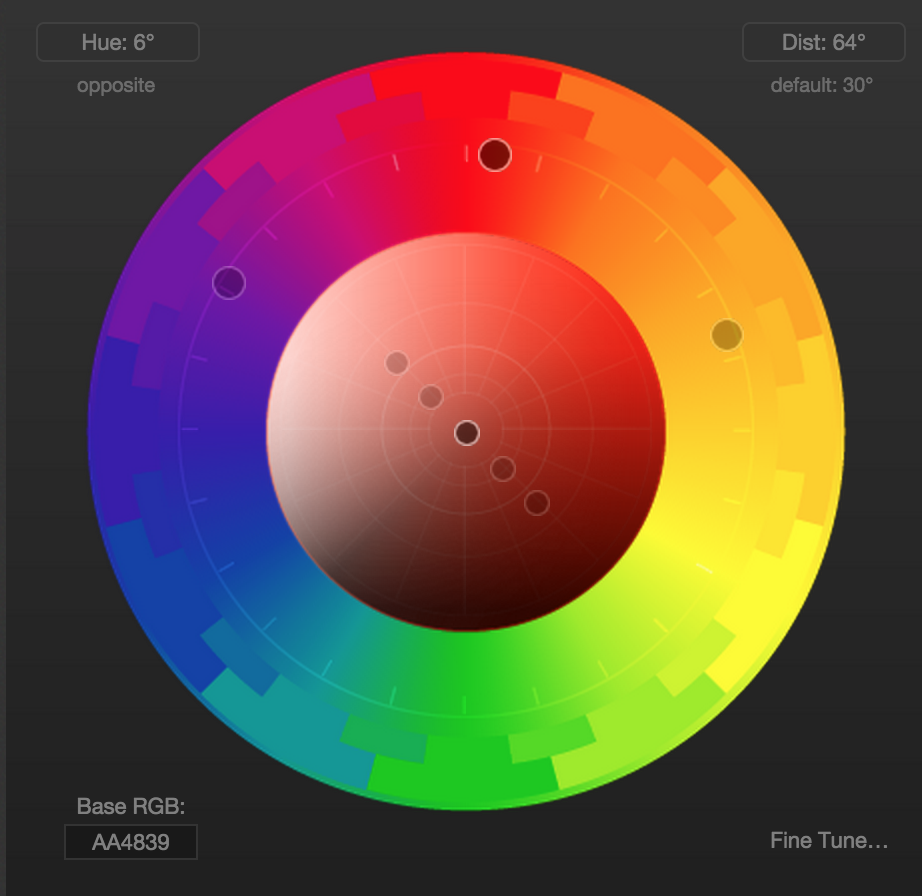 Color Scheme Designer paletton - color scheme designer with accessibility features