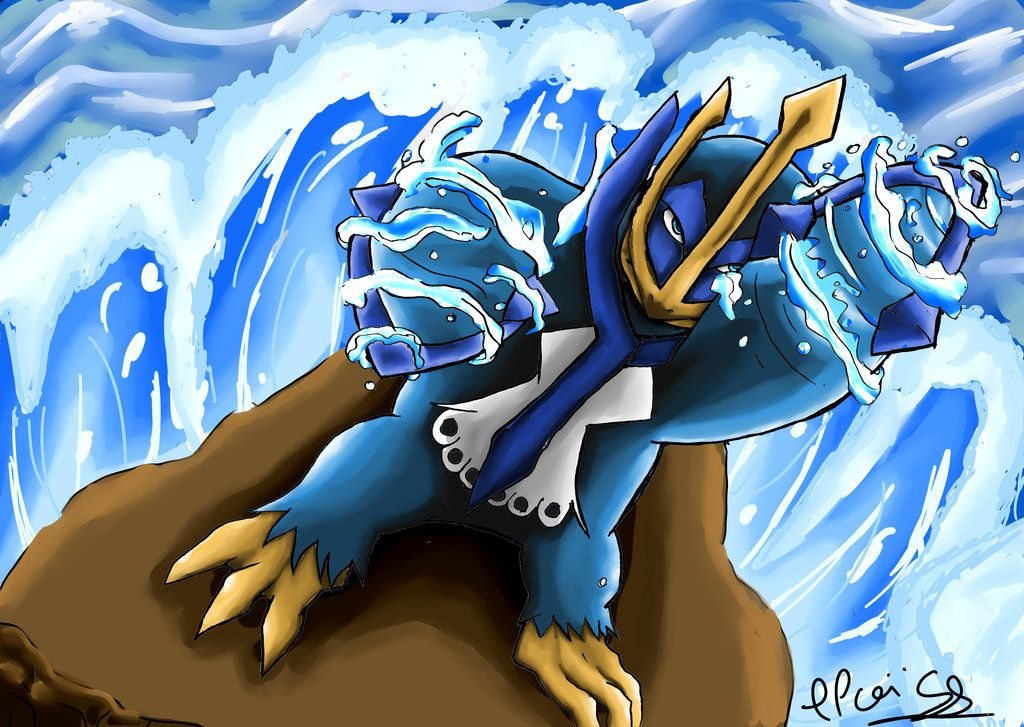 empoleon fanart by https shinatoriyuu deviantart com on
