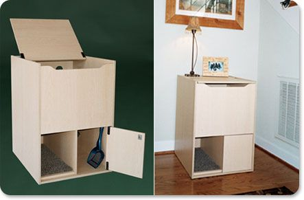The coolest cat box ever in the history of cat boxes must for Muebles para gatos