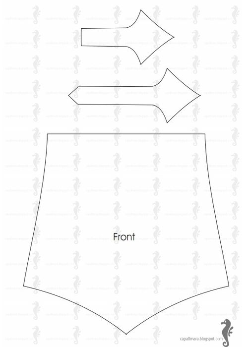 How to sew a fanny pack pattern 2 of 3 | fanny pack | Pinterest ...