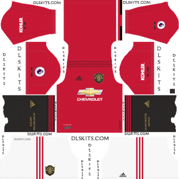 Manchester United Kit 2019 2020 Dream League Soccer Kits And Logo In 2020 Manchester United Home Kit Manchester United Away Kit Manchester United