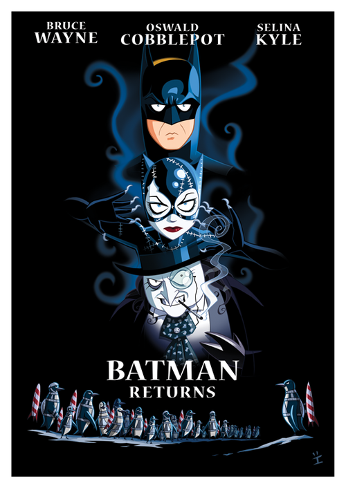 Batman Returns Animated Poster